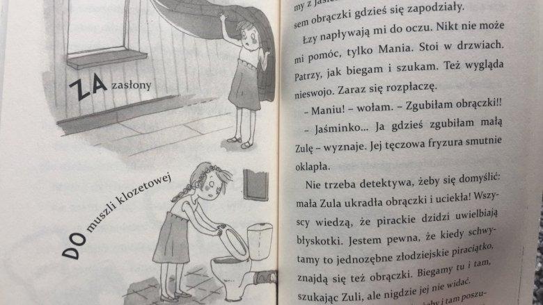 Mimo wesołej formy książka ma też wydźwięk edukacyjny (fot. Ewelina Zielińska/SilesiaDzieci.pl)