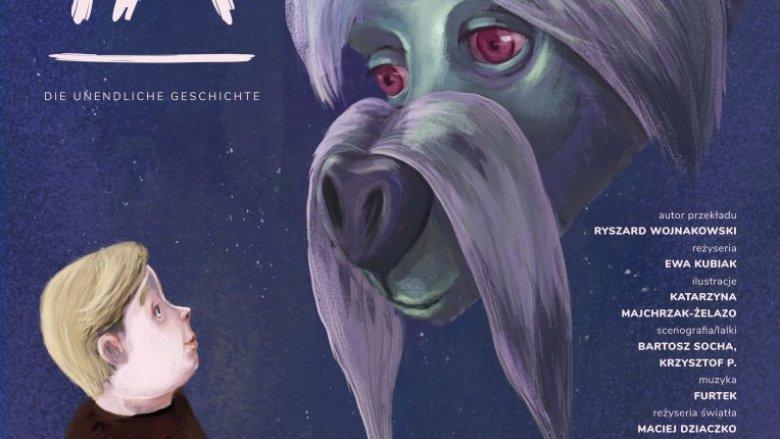 Spektakl to nowatorska inscenizacja kultowej powieści dziecięcej Michael'a Ende'a (fot. mat. organizatora)