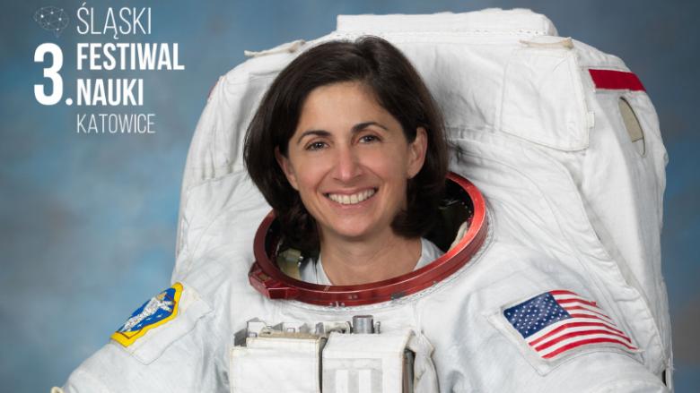 Jedną z atrakcji na ŚFN będzie spotkanie z astronautką NASA – Nicole Stott (fot. mat. organizatora)