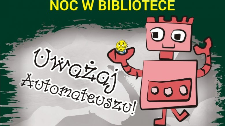 Noc w sosnowieckiej bibliotece mogą spędzić dzieci w wieku 9-15 lat (fot. mat. organizatora)