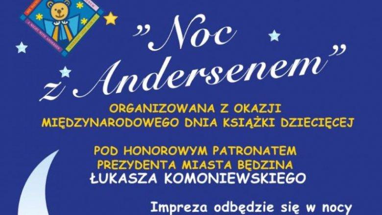 """Międzynarodowa Impreza Czytelnicza """"Noc z Andersenem"""" będzie obchodzona w Będzinie już 27 i 28 marca (fot. mat. organizatora)"""