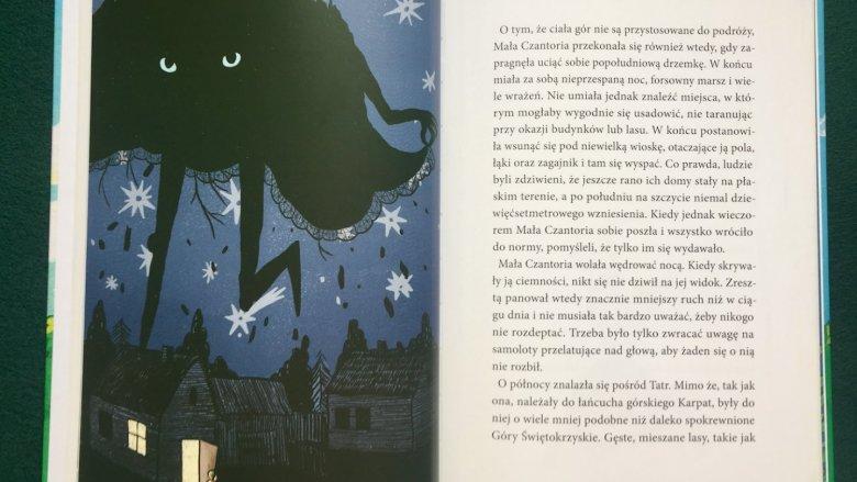 Na uwagę zasługuje nie tylko treść książki, ale także jej oprawa graficzna (fot. Ewelina Zielińska/SilesiaDzieci.pl)