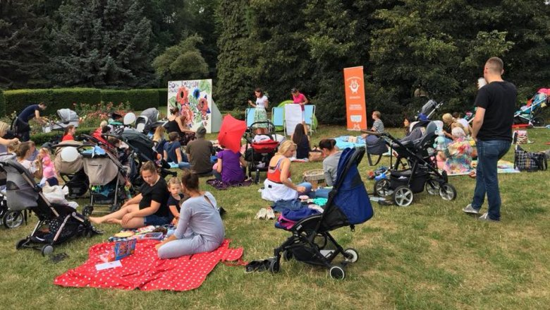 Śniadanie na trawie połączone z konsultacjami poprowadzą specjaliści portalu LudzkiRodzic.pl (fot. mat. organizatora)