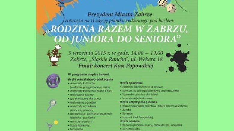 Finałem pikniku rodzinnego w Zabrzu będzie występ Kasi Popowskiej (fot. mat. organizatora)