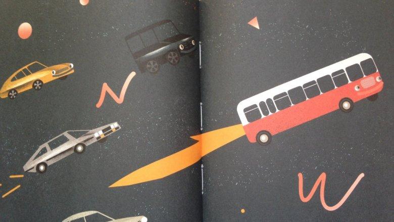 Na uwagę zasługuje nie tylko tekst, ale również oprawa graficzna książki (fot. Ewelina Zielińska/SilesiaDzieci.pl)