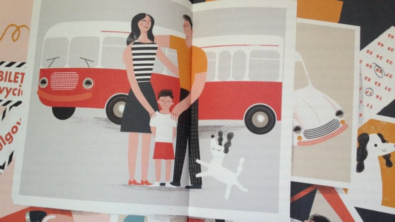 Choć głównym bohaterem jest samochód, lektura zainteresuje całą rodzinę bez wyjątku (fot. Ewelina Zielińska/SilesiaDzieci.pl)