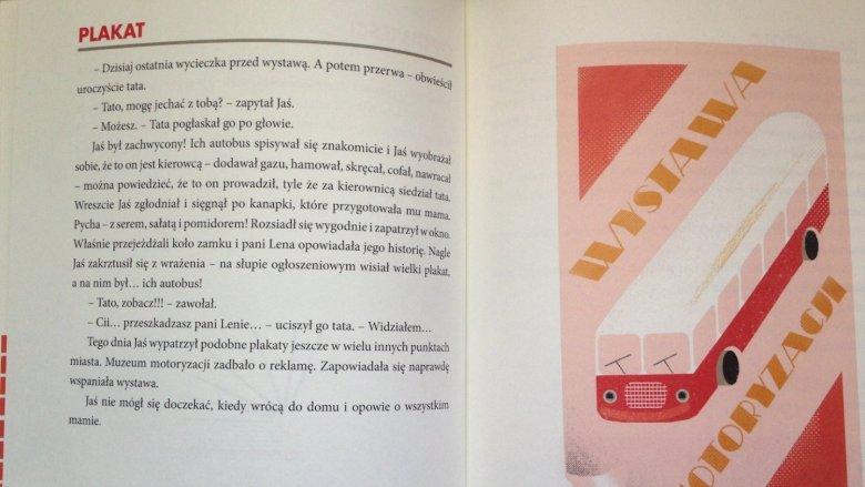 Całość wydawnictwa przenosi w świat PRL-u (fot. Ewelina Zielińska/SilesiaDzieci.pl)