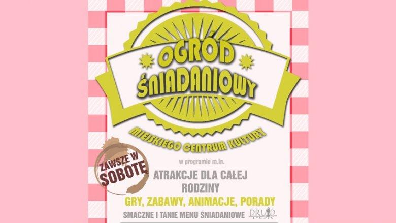 Do Ogrodu Śniadaniowego będzie można przyjść w każdą sobotę lipca (fot. mat. organizatora)