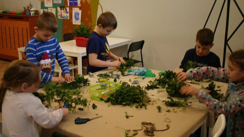 W czasie przedświątecznych warsztatów dzieci spędzą kreatywny czas pod dobrą opieką (fot. Gryfne Granie)