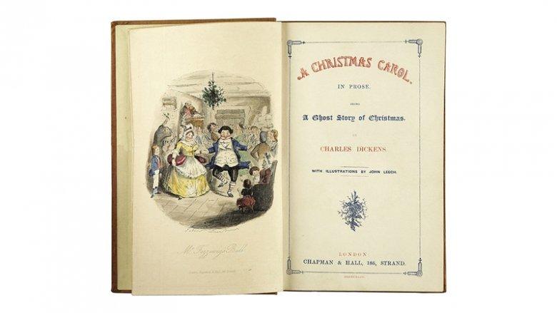 """Spektakl na motywach powieści Charles'a Dickens'a pt. """"Opowieść wigilijna"""" zostanie wystawiony na deskach Teatru Małego w Tychach (fot. wikipedia)"""