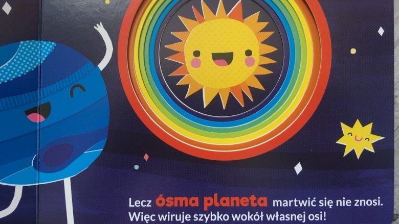 Słońce jest zawsze w centrum układu (fot. Ewelina Zielińska/SilesiaDzieci.pl)