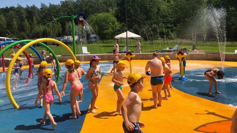 To już trzeci wodny plac zabaw w Katowicach (fot. mat. UM Katowice)