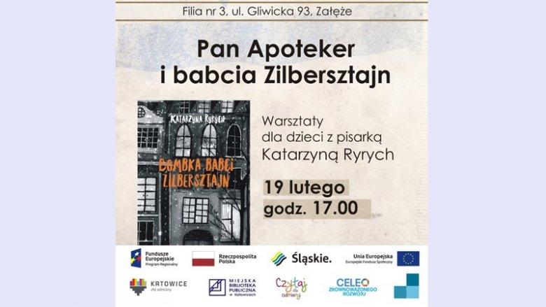 Spotkanie autorskie i warszataty dla dzieci odbędą się 19 lutego w MBP w Katowicach-Załężu (fot. mat. organizatora)