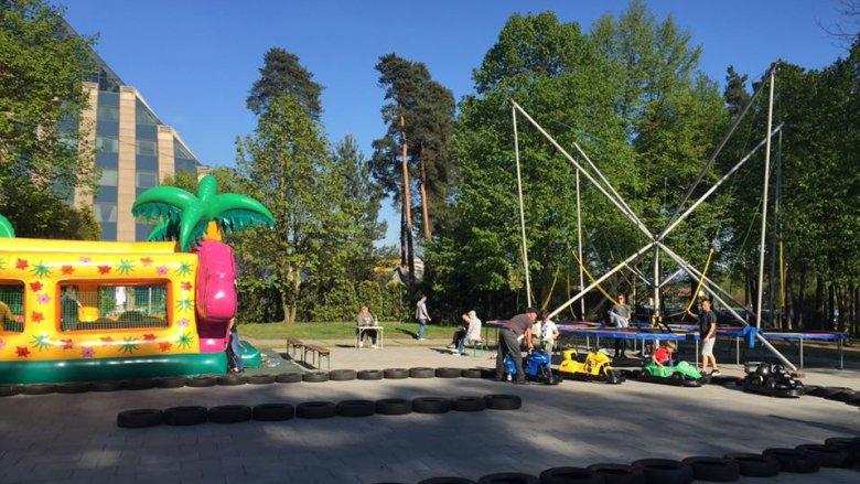 Odwiedzając festyn sportowy można też skorzystać z innych atrakcji, jakie oferuje OW Paprocany (fot. archiwum zdjęć na Fb/Paprocany)