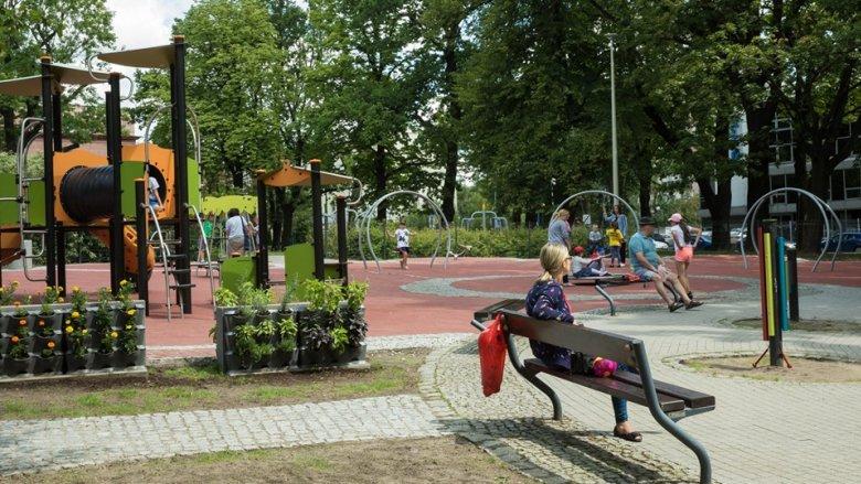Park Bogucicki w Katowicach zyskał nowe życie (fot. mat. UM Katowice)