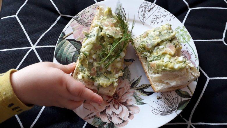Pasty kanapkowe są szybkie do przygotowania i bardzo zdrowe (fot. Agnieszka Mróz/SilesiaDzieci.pl)