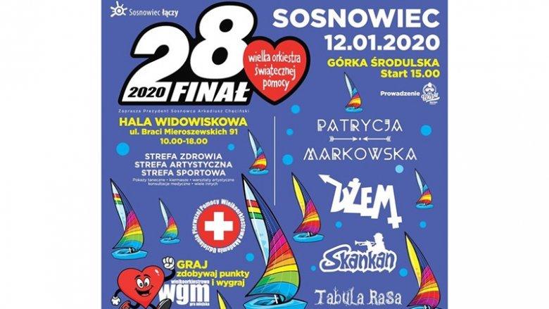 Na 28. finale WOŚP w Sosnowcu zagrają Patrycja Markowska i zespół Dżem (fot. mat. organizatora)