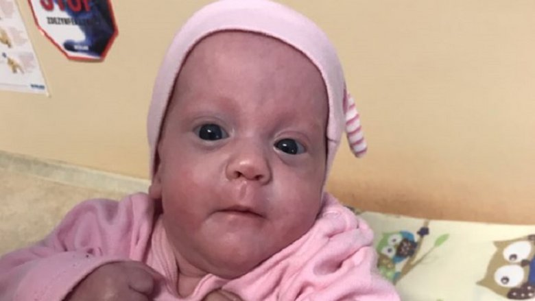 Dziewczynka urodziła się jako skrajny wcześniak (fot. FB Szpital Miejski Ruda Śląska)