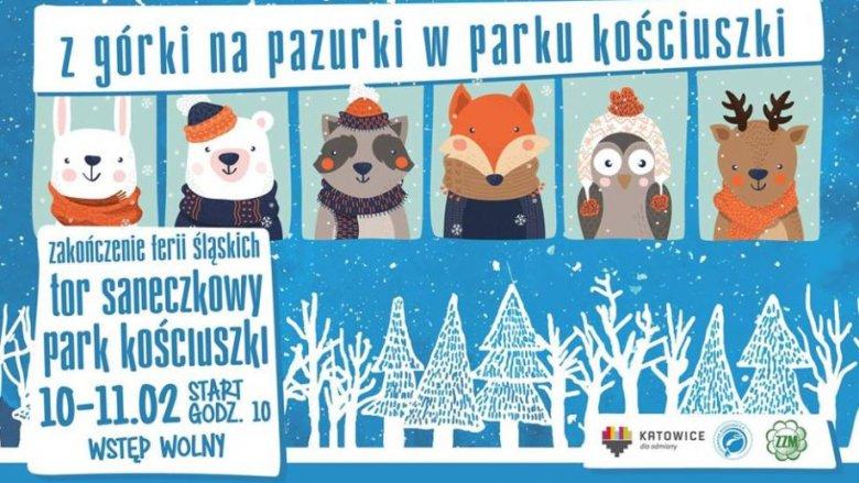Szalona zabawa na torze saneczkowym to niezwykły pomysł na zakończenie ferii zimowych (fot. mat. organizatora)