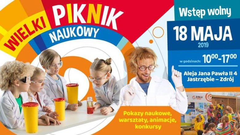 Wielki Piknik Naukowy Kopalni Wiedzy JSW odbędzie się 18 maja (fot. mat. organizatora)