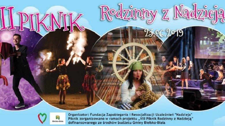 Piknik Rodzinny z Nadzieją odbędzie się 23 czerwca w Bielsku-Białej (fot. mat. organizatora)
