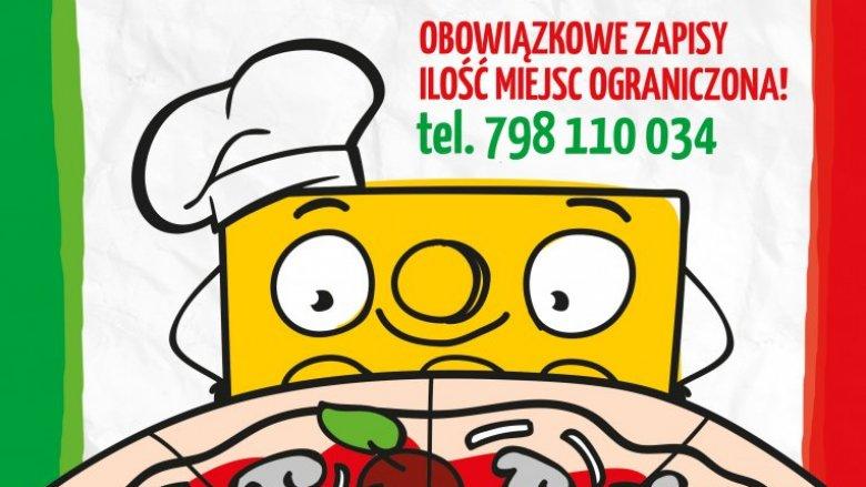 Mali kucharze sami przygotują swoje ulubione pizze (fot. mat. organizatora)