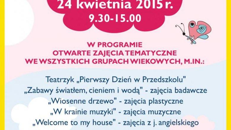 Akademia Wesołego Przedszkolaka zaprasza na Dzień Otwarty (fot. mat. organizatora)