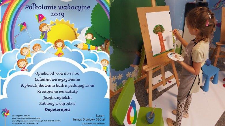 Półkolonie w Piaskownicy Kulturalnej będą odbywać się od 1 lipca do 31 sierpnia (fot. mat. organizatora)
