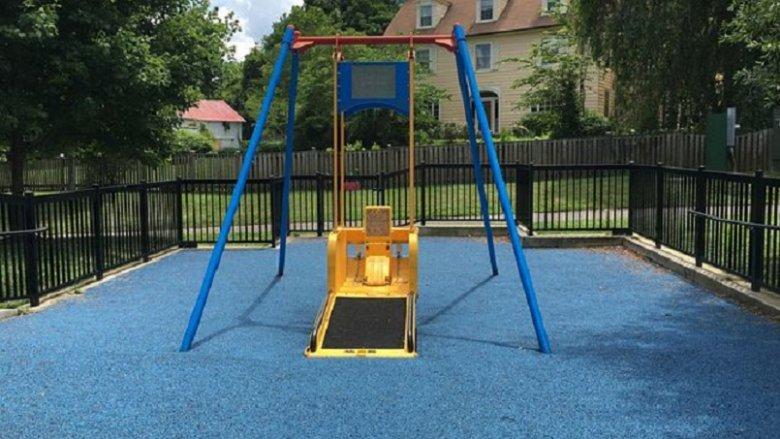 Plac zabaw dla dzieci niepełnosprawnych powstanie w Parku Miejskim w Tychach (fot. mat. prasowe)