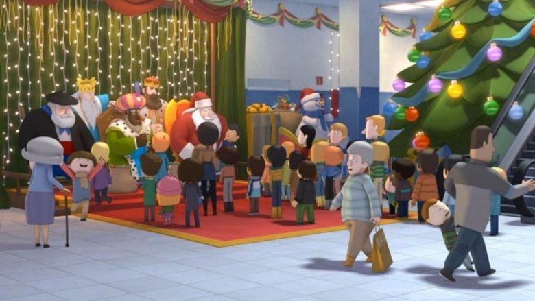 """Kadr z filmu """"Poczta Świętego Mikołaja"""" (fot. mat. kina Kosmos)"""