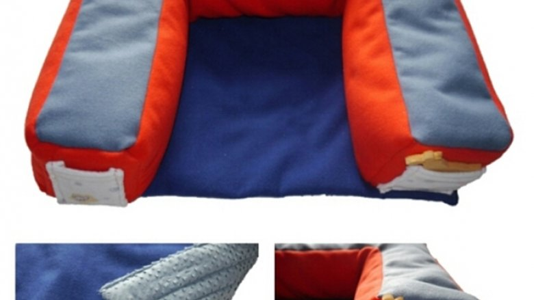 Praktyczna poducha z antypoślizgowym spodem (fot. materiały Lillop)