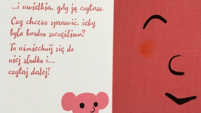 ...czasem wesoła, a rolą młodego czytelnika jest sprawić, by tak właśnie było (fot. Ewelina Zielińska/SilesiaDzieci.pl)