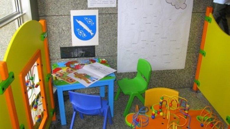 W UM Rybnik jest też kącik do zabawy dla dzieci (fot. materiały UM Rybnik)