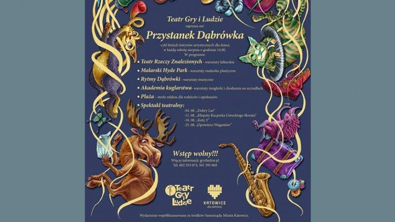 Przystanek Dąbrówka to propozycja dla dzieci w wieku od 3 do 10 lat na sierpniowe soboty (fot. mat. organizatora)