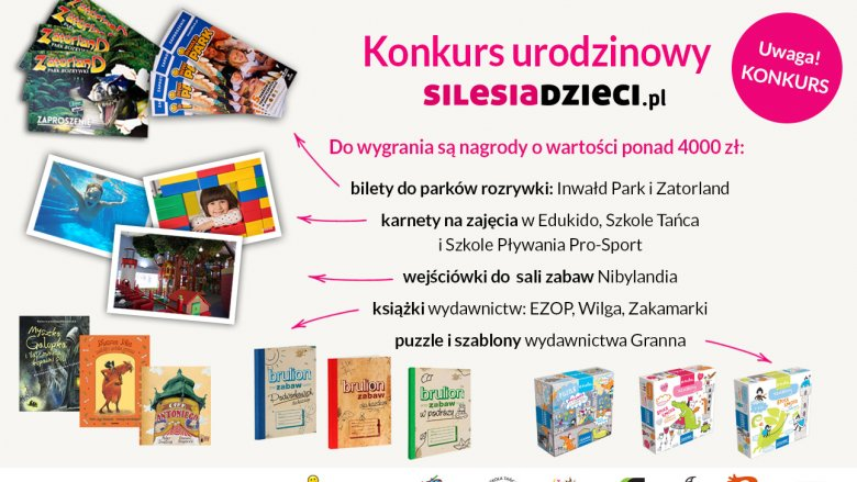 Świętujcie z nami 4. urodziny (fot. mat. Silesia Dzieci)