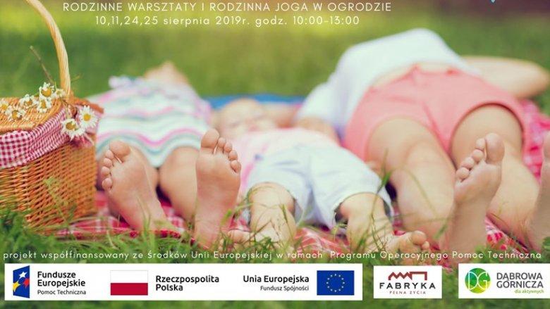 Na zajęciach w ogrodzie odbędzie się rodzinna joga oraz twórcze warsztaty (fot. mat. organizatora)