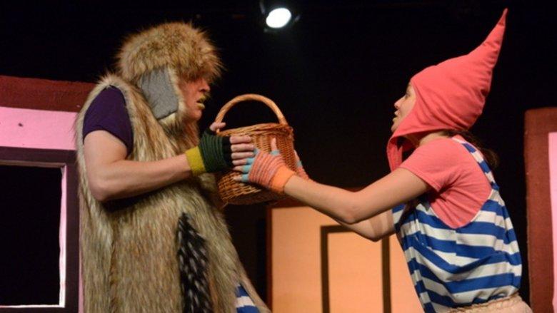 """Interaktywny spektakl """"Różowy Kapturek"""" będzie można zobaczyć 22 marca w Teatrze Żelaznym (fot. mat. organizatora)"""