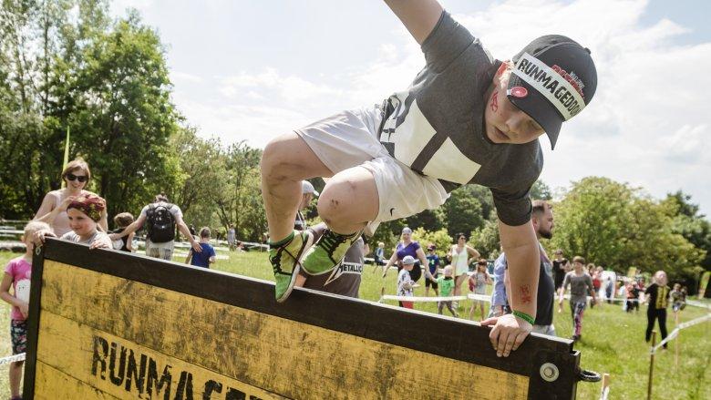 Runmageddon Kids to bieg na 1 km z 10 przeszkodami (fot. mat. organizatora)