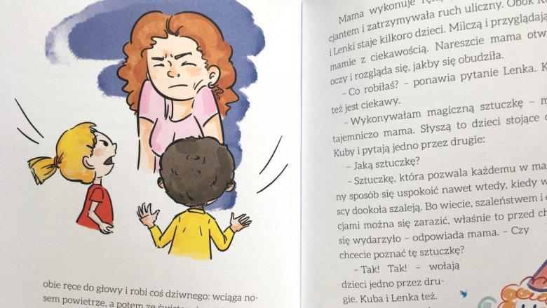 Bohaterowie opowiadań ukazują chwile z codziennego życia (fot. Ewelina Zielińska/SilesiaDzieci.pl)