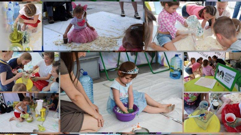 Warsztaty z sensoplastyki to uczta dla dziecięcych zmysłów (fot. mat. organizatora)