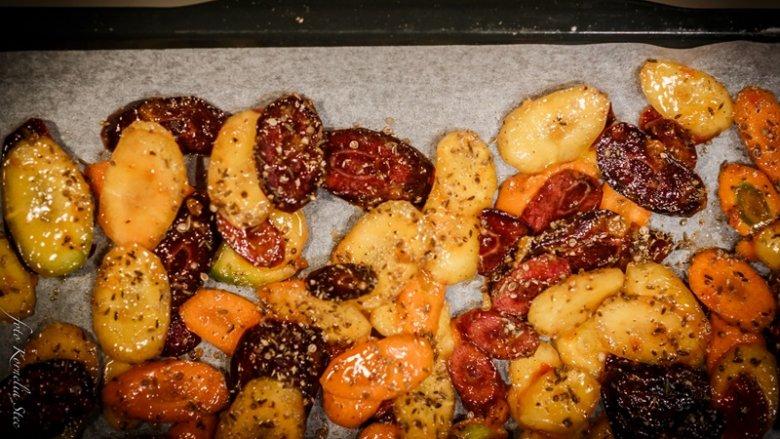 Można użyć różnych odmian marchewek, wtedy danie jest kolorowe (fot. mat. Pracowni SMAKU)