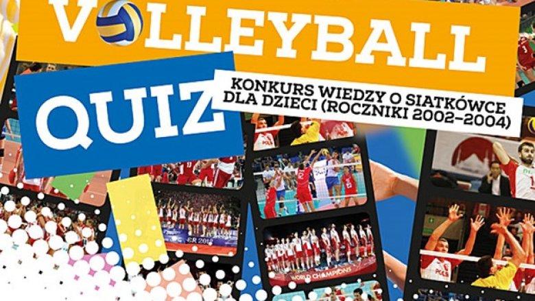 Konkurs wiedzy o siatkówce skierowany jest do dzieci z Będzina (fot. mat. organizatora)