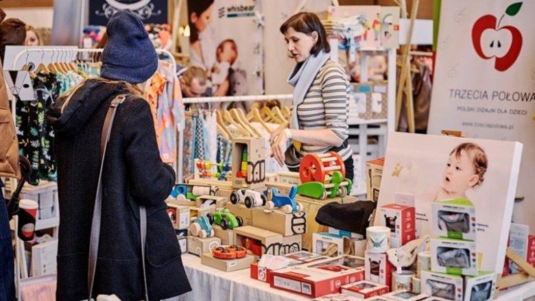 Silesia Bazaar Kids to przede wszystkim okazja, by kupić nietuzinkowe produkty od polskich producentów (fot. Ewelina Zielińska/SilesiaDzieci.pl)
