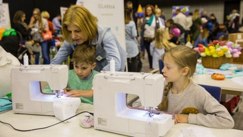 Symfonia Szycia zorganizuje warsztaty krawieckie, podczas których dzieci zrealizują swoje pierwsze projekty (fot. mat. organizatora)