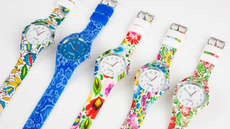 Nagroda nr 5 - jeden z kwiecistych zegarków (folkstar.pl)