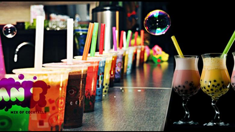 Na takie napoje mogą liczyć uczestnicy balu sylwestrowego dla dzieci w Kawiarni Active Baby Cafe w Tarnowskich Górach (fot. mat. kawiarni ABC)