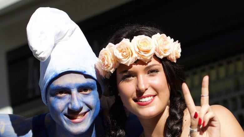 Na festynie zorganizowanym przez MBP w Sosnowcu rządzić będą Smerfy (fot. pixabay.com)