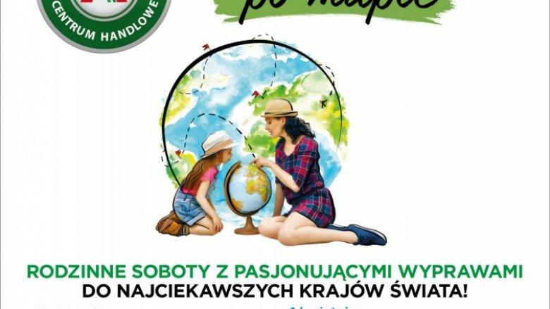 """""""Palcem po mapie"""" to warsztaty i zabawy oraz spektakle teatralne w CH Auchan Sosnowiec (fot. mat. organizatora)"""