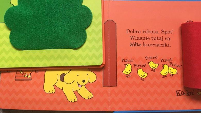 To idealna propozycja na pierwsze książeczki dla dzieci (fot. mat. Ewelina Zielińska/SilesiaDzieci.pl)