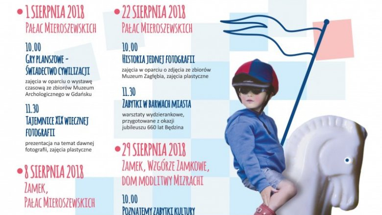 Podczas środowych spotkań w Muzuem Zagłębia dzieci będą mogły m.in. zwiedzić Zamek i wziąć udział w warsztatach (fot. mat. organizatora)